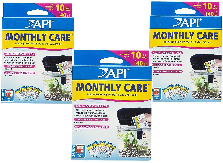Amazon.com : (3 Pack) API Monthly Care Aquarium Treatments : Pet Supplies