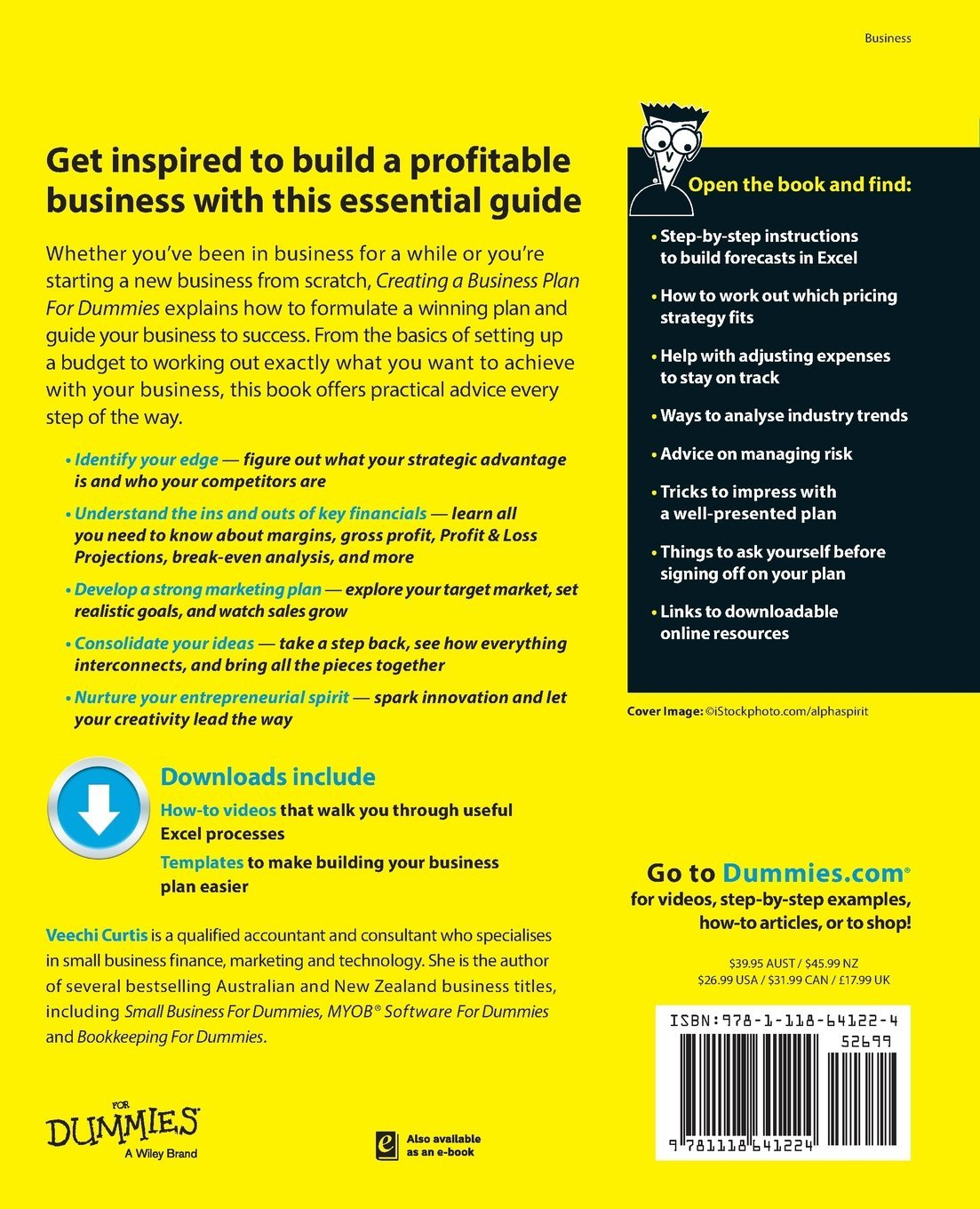 Amazon creating a business plan for dummies for dummies series amazon creating a business plan for dummies for dummies series 9781118641224 veechi curtis books flashek Images