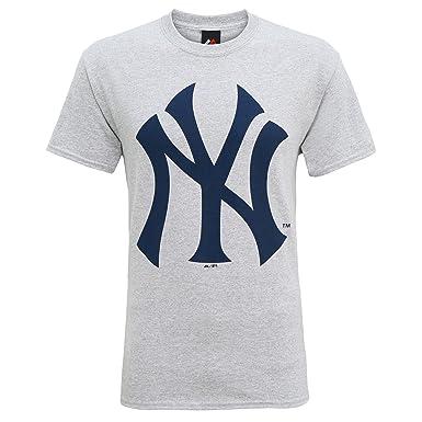 83f8916005d7b Producto oficiales de deportes americanos - Camiseta de manga corta con el logo  New York Yankees