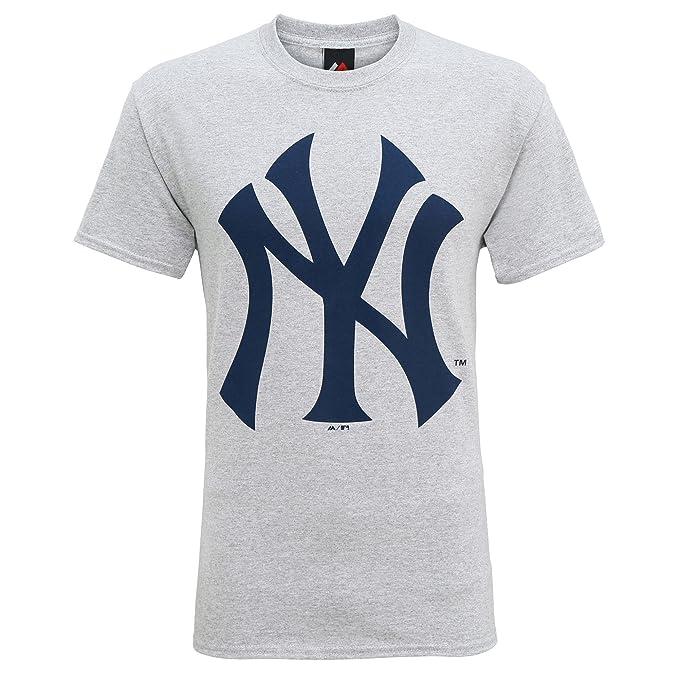 Producto oficiales de deportes americanos - Camiseta de manga corta con el logo New York Yankees