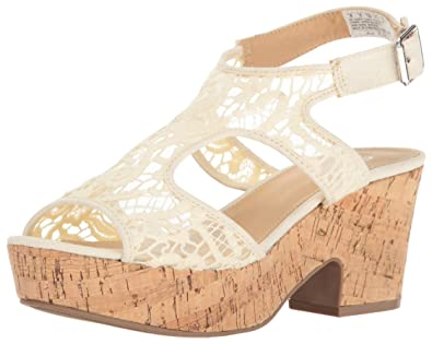 966688ffdcc Skechers Cali Women s Crochet Wedge Platform Dress Sandal