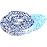 Mala Beads Collar/Pulsera, Rezo Budista Collar/Pulsera, Borla Collar