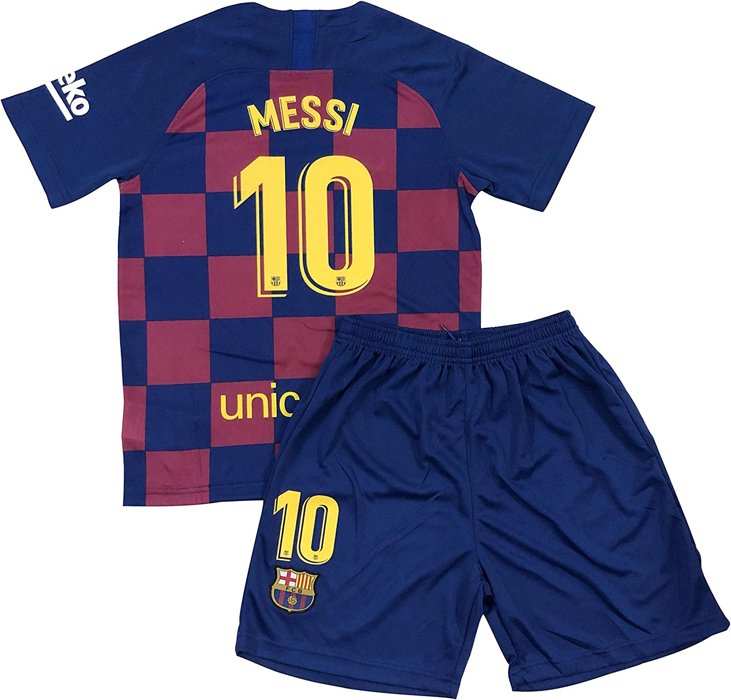 Bayli New 2020 Youths Messi 10 Home Jersey & Shorts