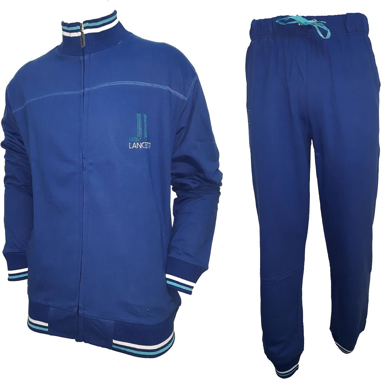 lancetti Tuta Donna Cotone Full Zip Homewear Sport e Tempo Libero Art LF211