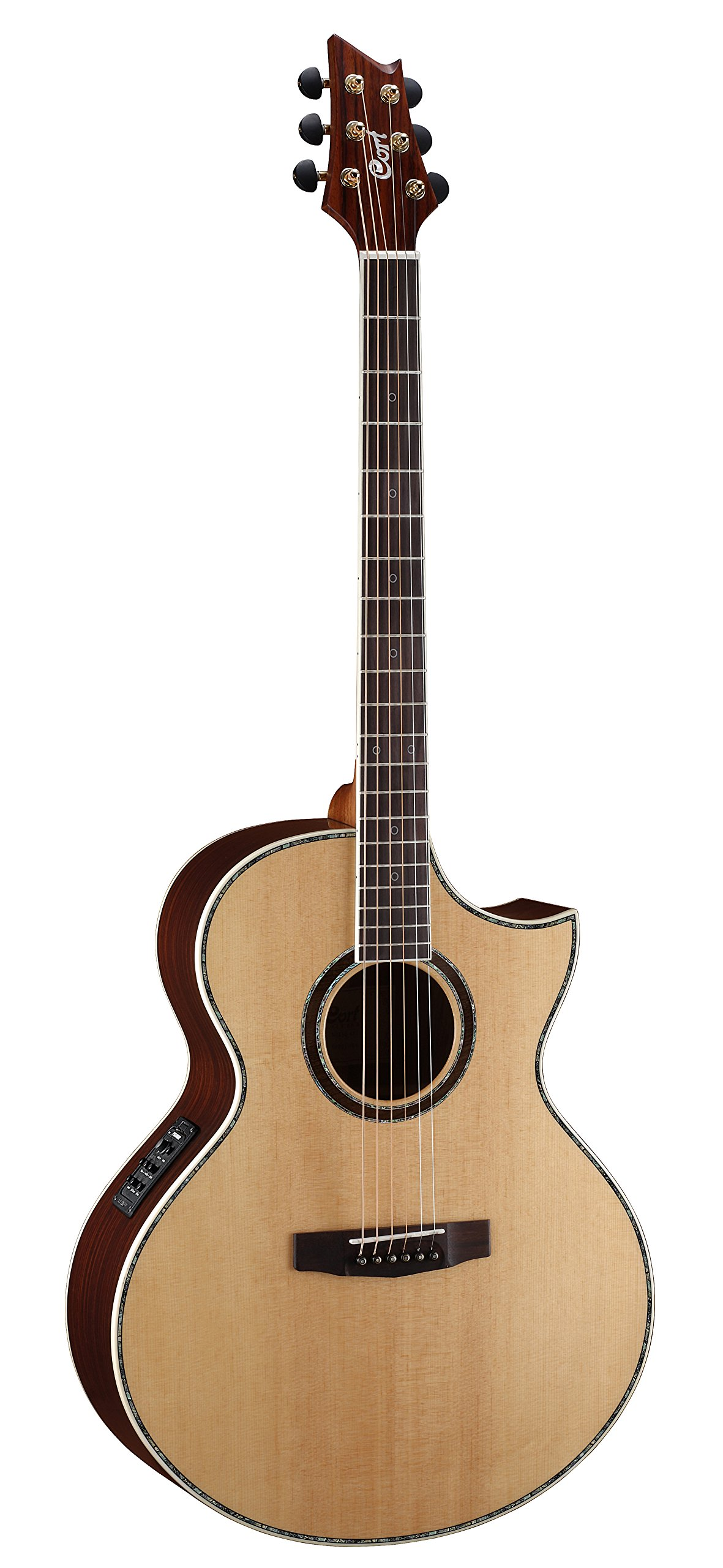 cort 6 string acoustic electric guitar right handed ndx baritone ns guitar affinity. Black Bedroom Furniture Sets. Home Design Ideas