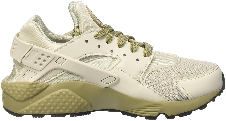 Nike Air Huarache Run Zapatillas de Gimnasia para Hombre Beige Light
