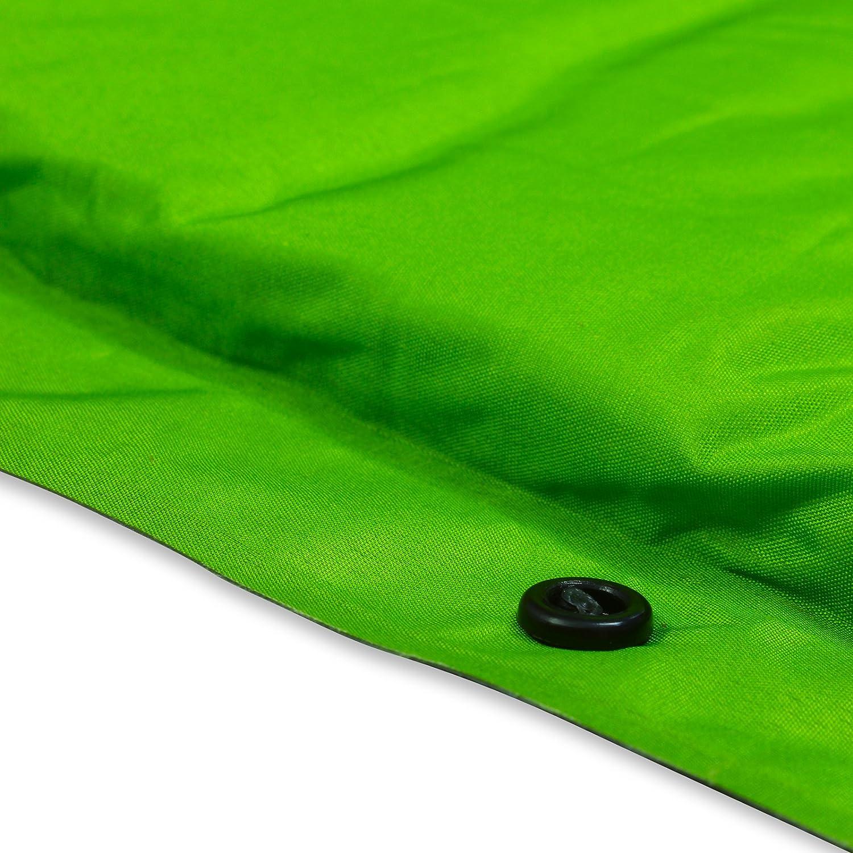 Esterilla de camping autoinflable + almohada - Esterilla ligera de alta calidad con bolsa de transporte. Perfecta para acampadas, festivales, scouts o como ...