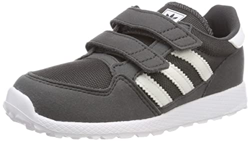 adidas Unisex Kinder Forest Grove Cf I Fitnessschuhe, Blancgris foncÃ