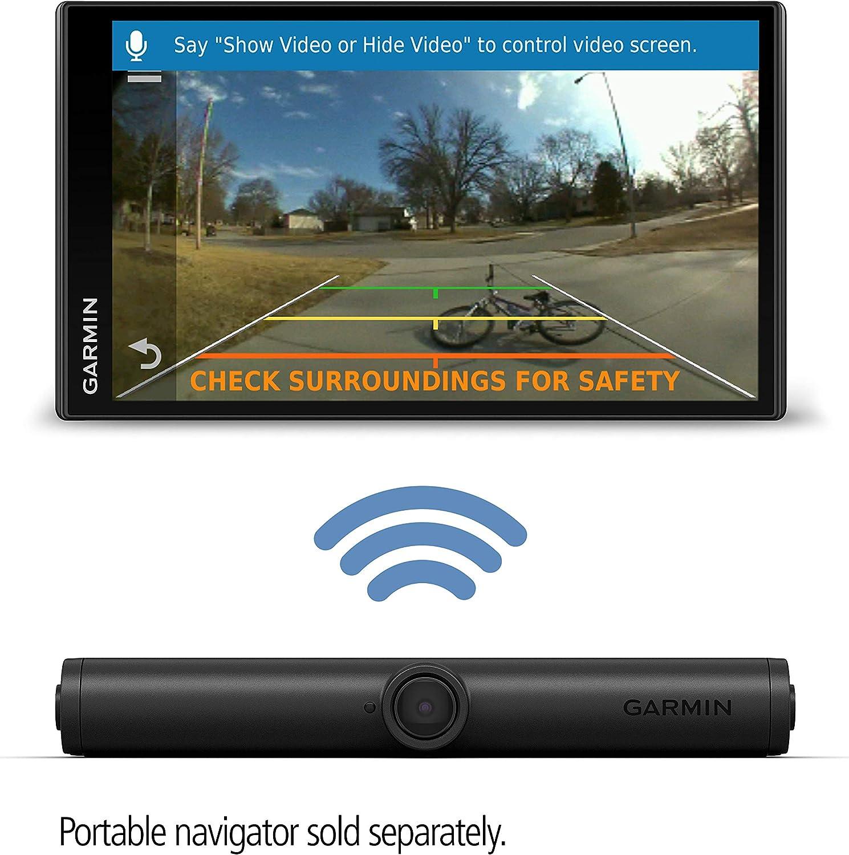 720p Bildaufl/ösung Garmin BC 40 Reichweite bis zu 8 m einfache Montage Sprachsteuerung drahtlose R/ückfahrkamera inkl Nummernschildhalterung mit 150/° Weitwinkel WLAN wasserdicht nach IPX7