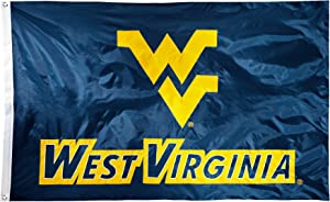NCAA 2-sided Nylon Applique 3 Ft x 5 Ft Flag with Grommets