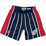 3f8da14478c Mitchell   Ness Houston Rockets NBA Men s 1996-97 Road Navy Blue Swingman  Shorts