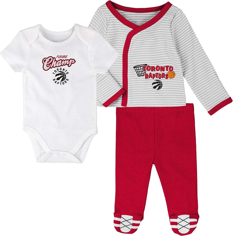 Shirt Toronto Raptors Newborn Future Champ Bodysuit and Pants Set