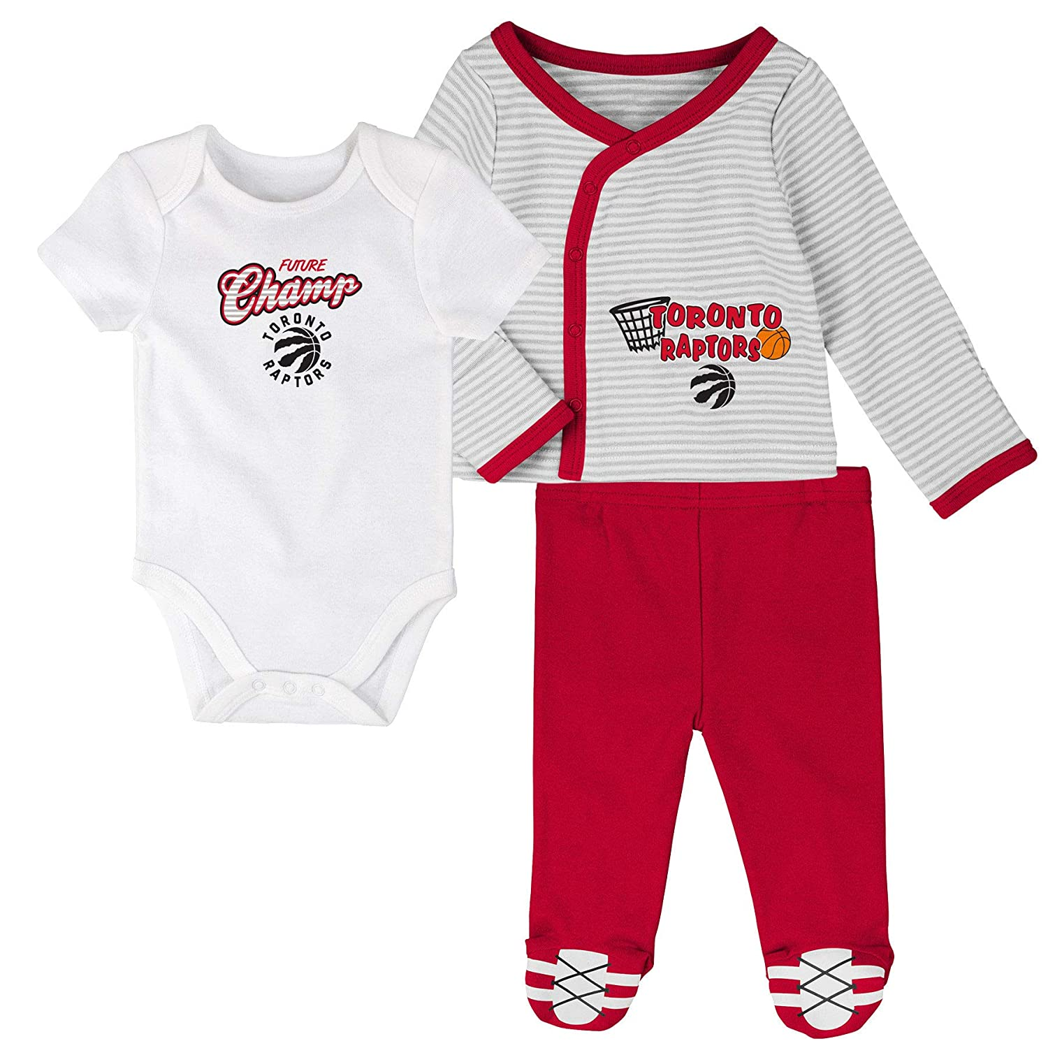 Toronto Raptors Newborn Future Champ Bodysuit and Pants Set Shirt
