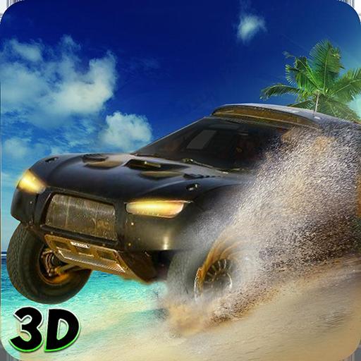 Miami Beach Car Stunt Drive 3D ()