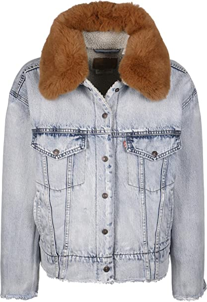 Levis ® Baggy Trucker W Chaqueta vaquera true life: Amazon ...