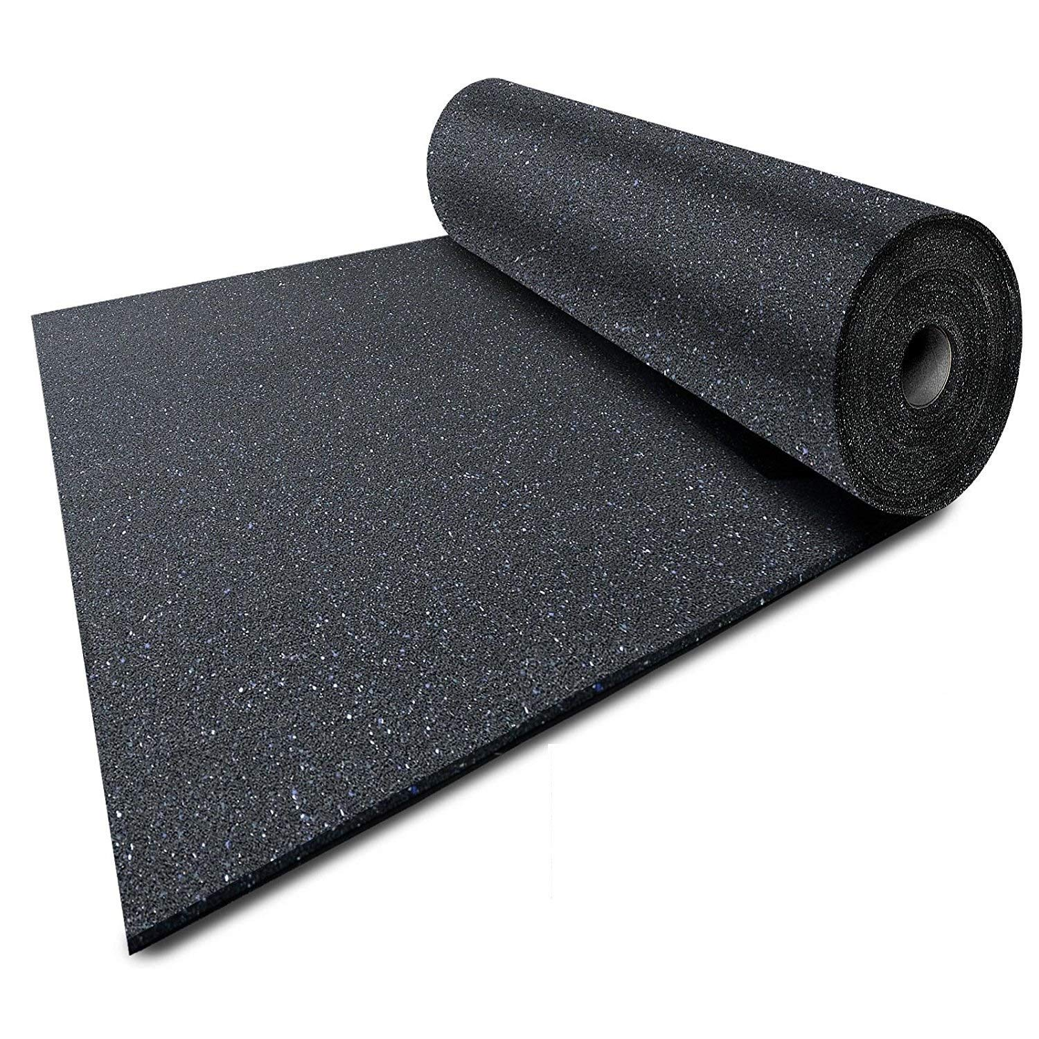 Ergocell Recycled Rubber Floor Mat – Shock Absorbent Gym Mat Flooring & Horse Stall Mat | Three Thicknesses, Multiple Sizes | 3/8'' - 2' x 2' by Ergocell (Image #3)