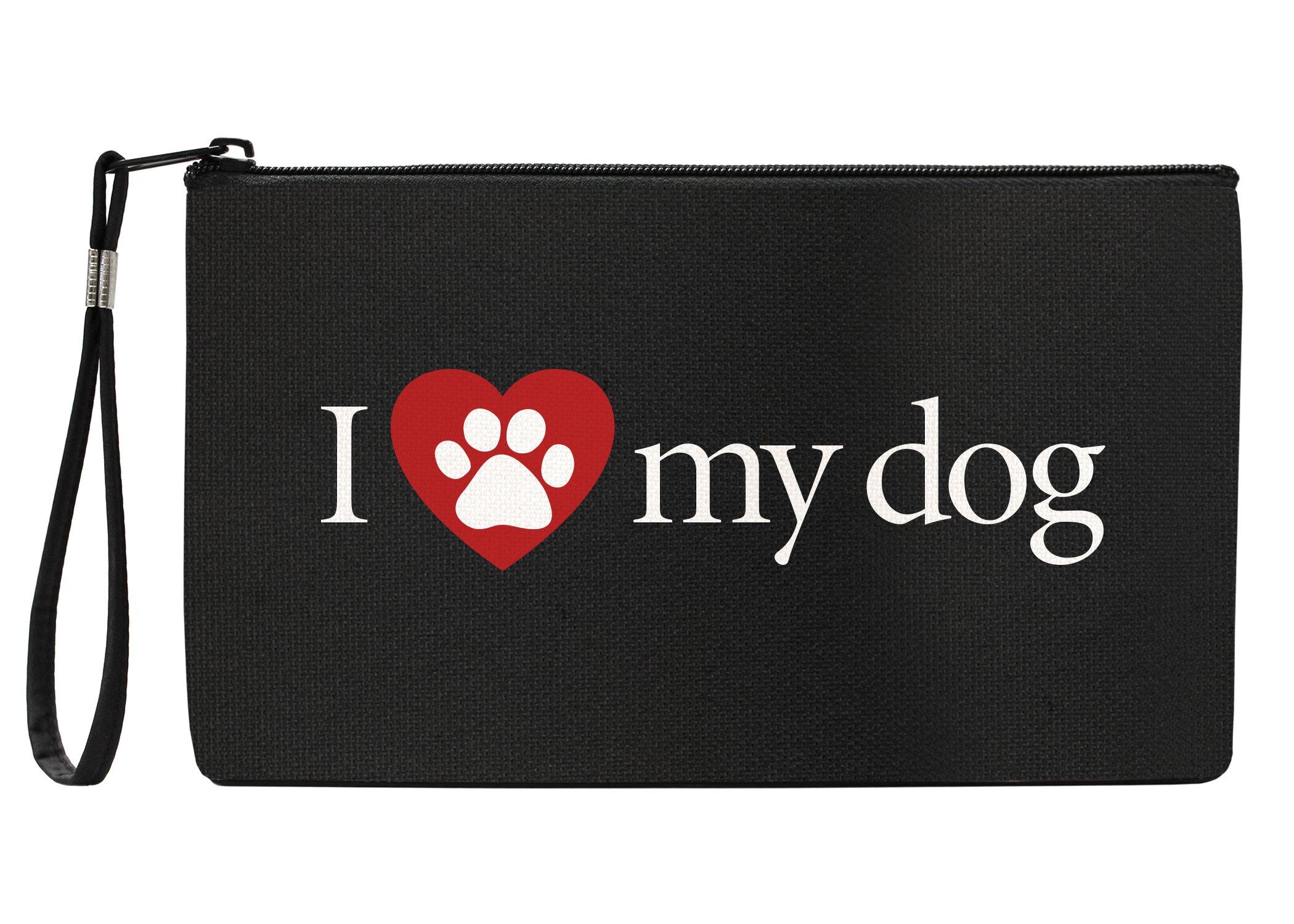 Snaptotes I Love My Dog Wristlet Clutch Purse