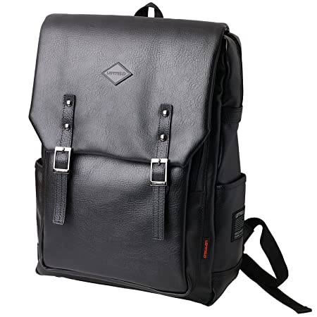 93b1e44da4 LEFTFIELD Backpack School College Bags Laptop Casual Briefcase (Black)  Amazon.co.uk ...