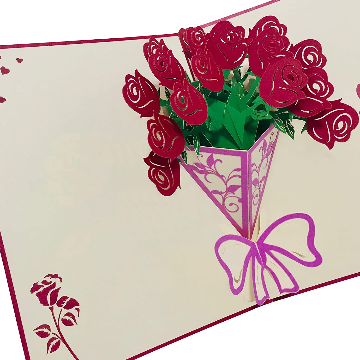 """6"""" x 4"""" Deep Butterfly edge Card and Envelopes"""