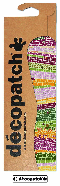Decopatch - Papel decorativo (395 x 298 mm, 3 unidades), diseño de mosaico C509O