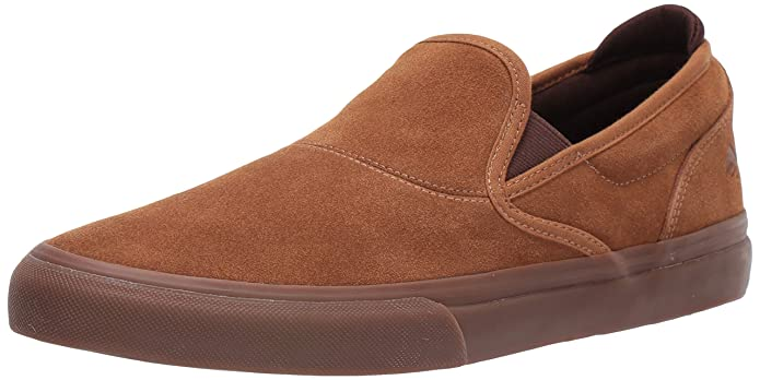 Emerica Wino G6 Slip-On Sneakers Herren Braun/Gum