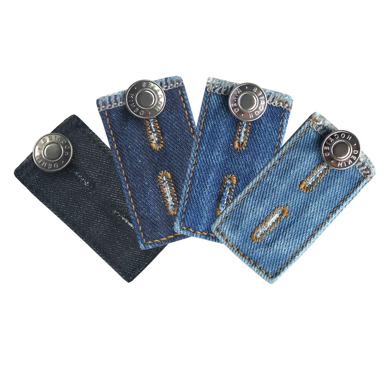 Hosenbunderweiterung f/ür Jeanshosen Schwangerschaft 8 St/ücke Qualit/äts Hosenerweiterung Einstellbare Elastische Extender f/ür Hosen Jeans f/ür Schwangere
