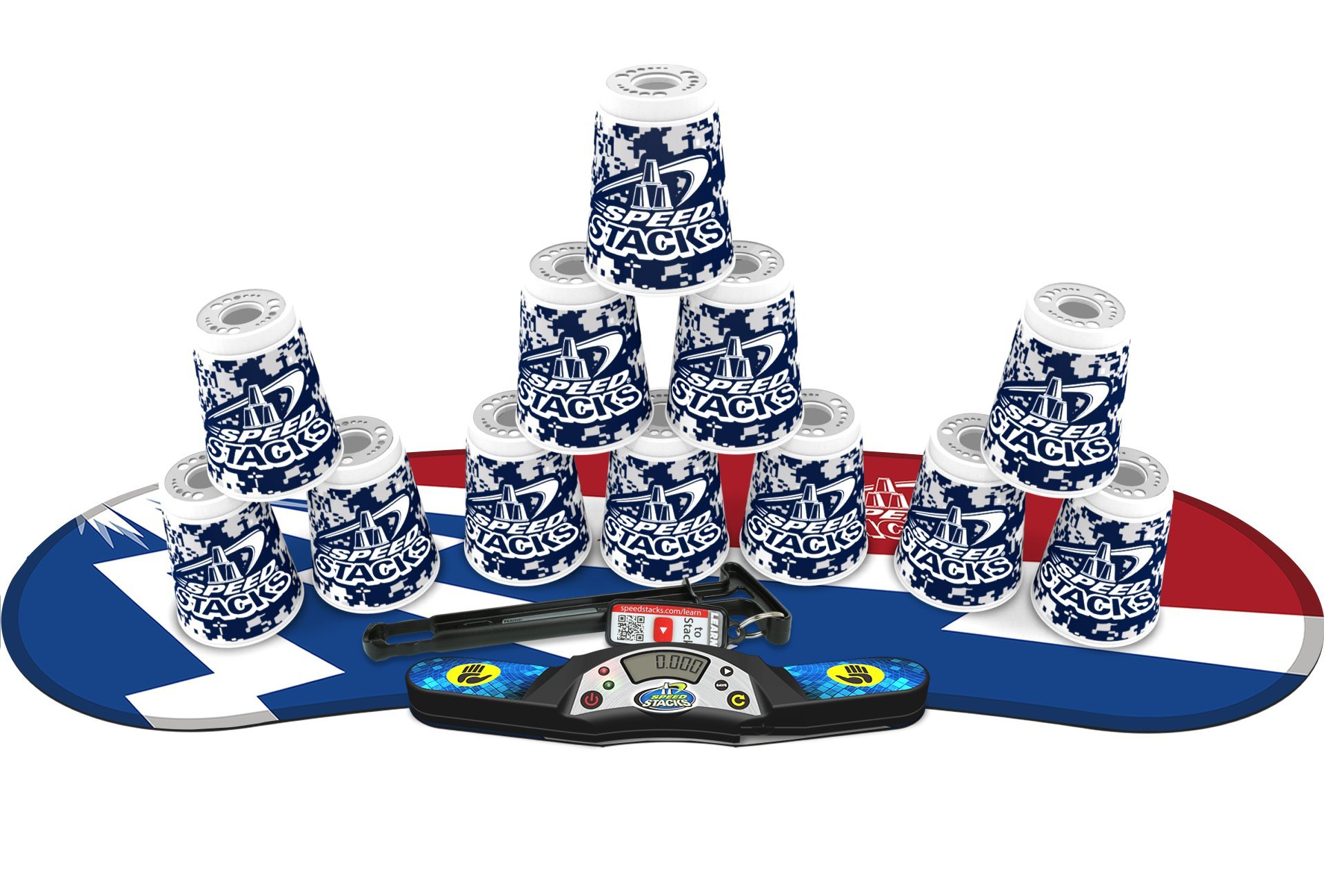 Speed Stacks Competitor - Digital Camo w/ Atomic Punch Mat