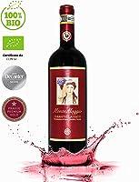 Chianti Classico di Montemaggio - Vino Tinto Seco Fino Orgánico de Italia - DOCG Toscana - Gallo Nero - Sangiovese/Merlot - Fattoria di Montemaggio - 0.75L - 1 Botella
