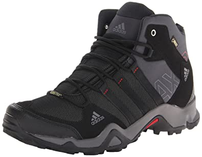 size 40 9ac20 6200d Adidas Outdoor Men s Ax2 Mid Gore-Tex Hiking Boot, Dark Shale Black