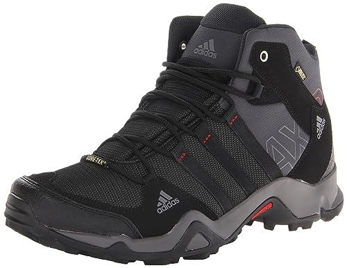 new arrivals da894 1145e Adidas Outdoor Mens Ax2 Mid Gore-Tex Hiking Boot, Dark ShaleBlack