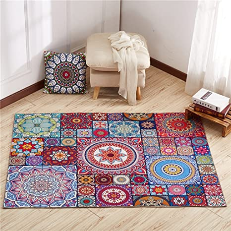 Amazon.com: Rug GJM Shop 6mm Rectangle Vintage Blended ...