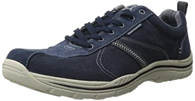 Skechers Men's Relaxed Fit: Expected - Mellor Shoe-Navy-7.5