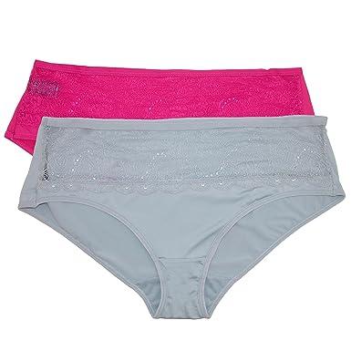 f7986625b943 Rene Rofe Women's Plus Size Brief Underwear (Pack of 2) at Amazon ...