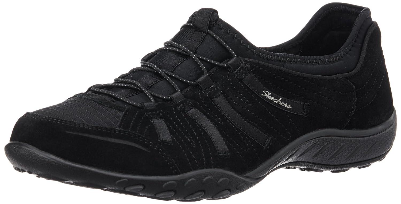Skechers Women's Breathe Easy Big Bucks Fashion Sneaker B00L2D0KRW 11 B(M) US|Black