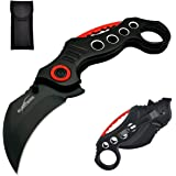 ALBATROSS EDC Cool Spring Assisted Folding Pocket Knives Tactical Sharp Raptor Claw Knife