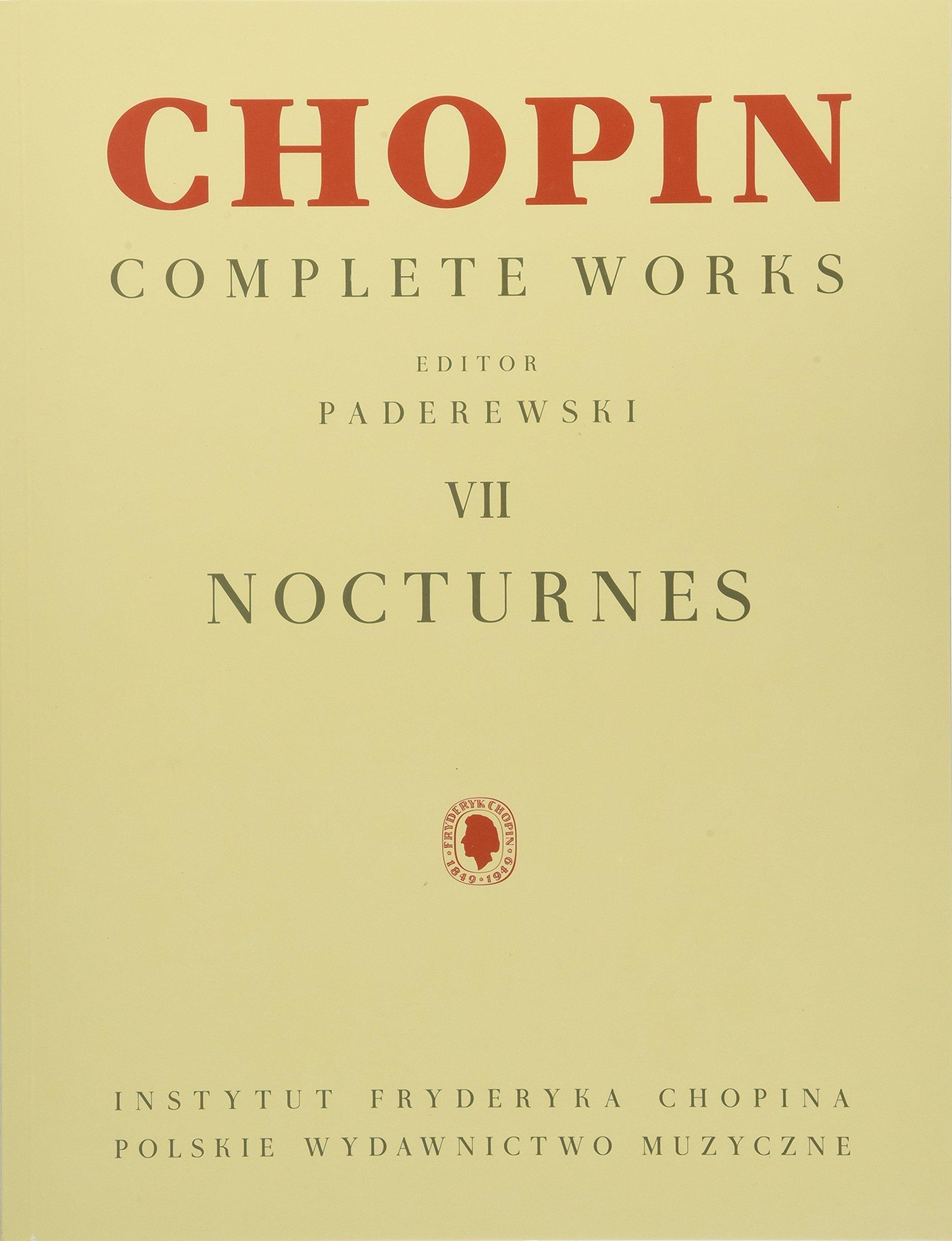 Read Online Nocturnes: Chopin Complete Works Vol. VII pdf epub