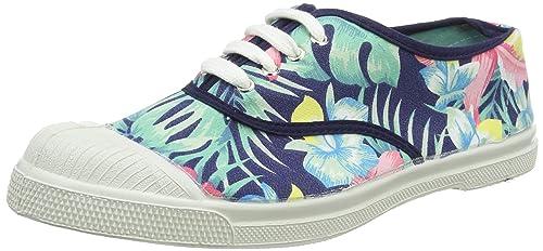 Bensimon Tennis Lacet, Zapatillas para Mujer, (Rouge Hibiscus), 40 EU: Amazon.es: Zapatos y complementos