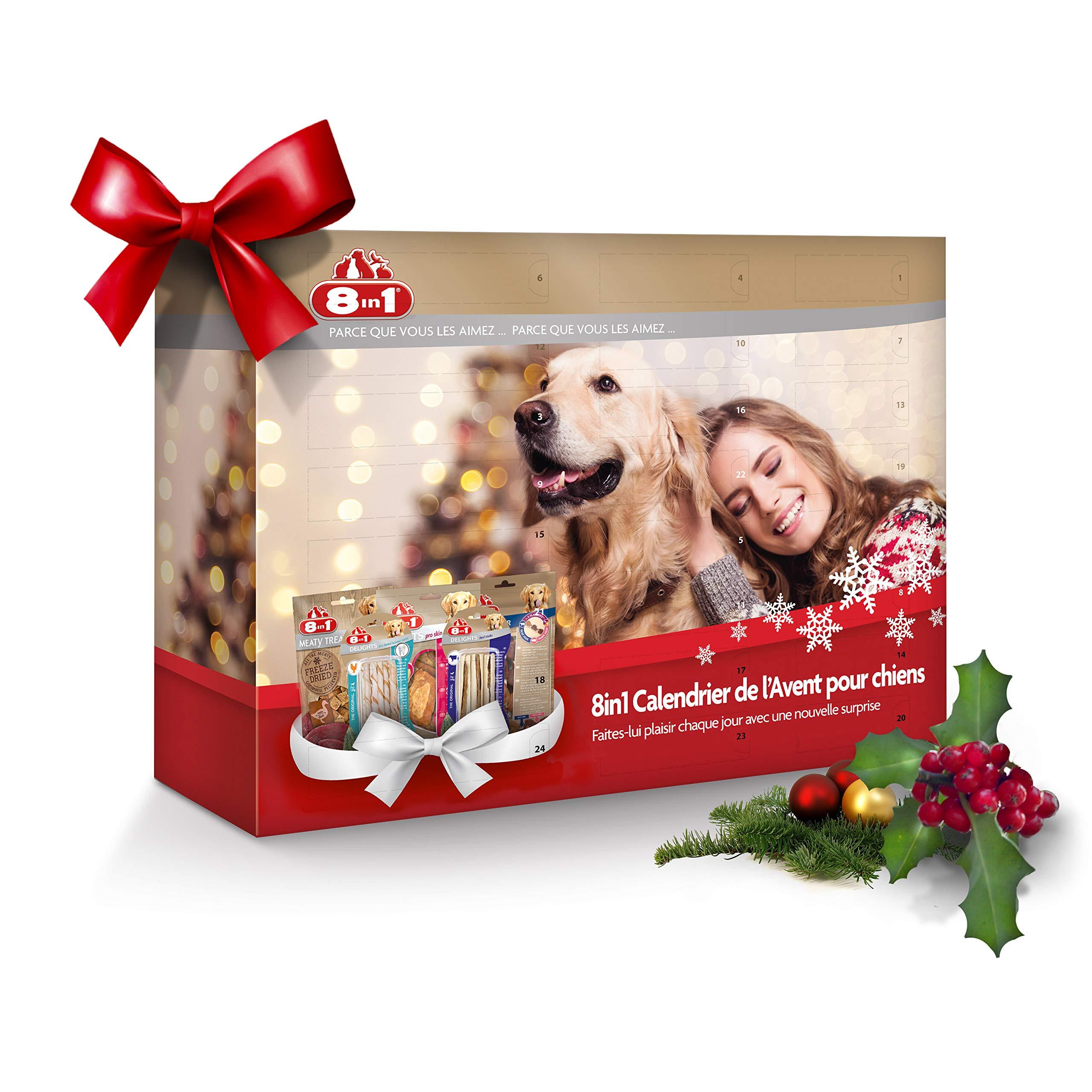 Calendrier De Lavent Pour Animaux.Details Sur Cadeau Pour Animaux Calendrier De L Avent Cadeau De Noel Pour Chiens Beau Design