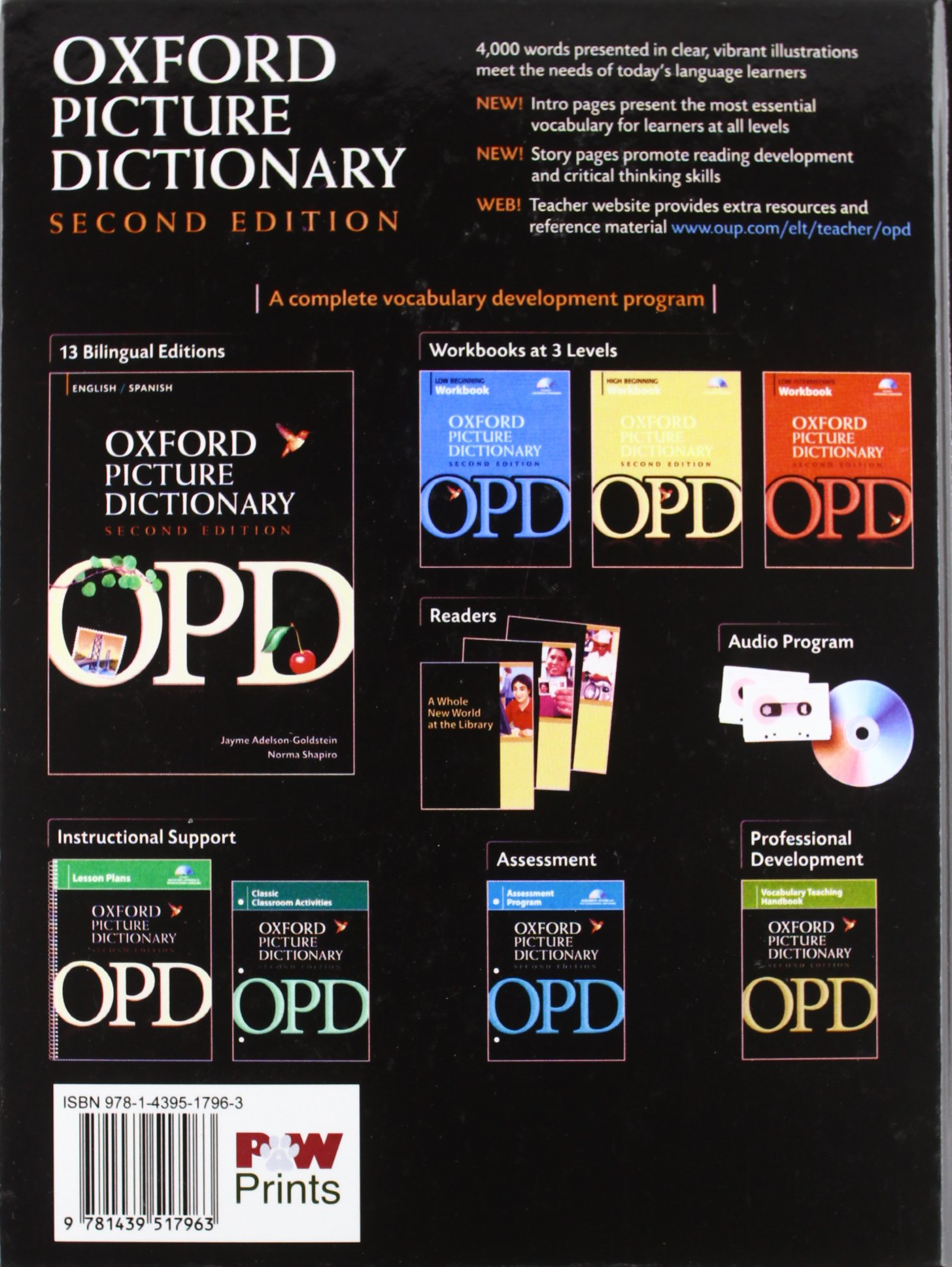 The Oxford Picture Dictionary: Monolingual: Norma Shapiro, Jayme  Adelson-Goldstein: 9781439517963: Foreign Languages: Amazon Canada