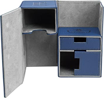 Ultimate Guard UGD10230 Twin Flip n Tray Case 160 Plus - Estuche para Cartas (Material Xenoskin), Color Azul: Amazon.es: Juguetes y juegos