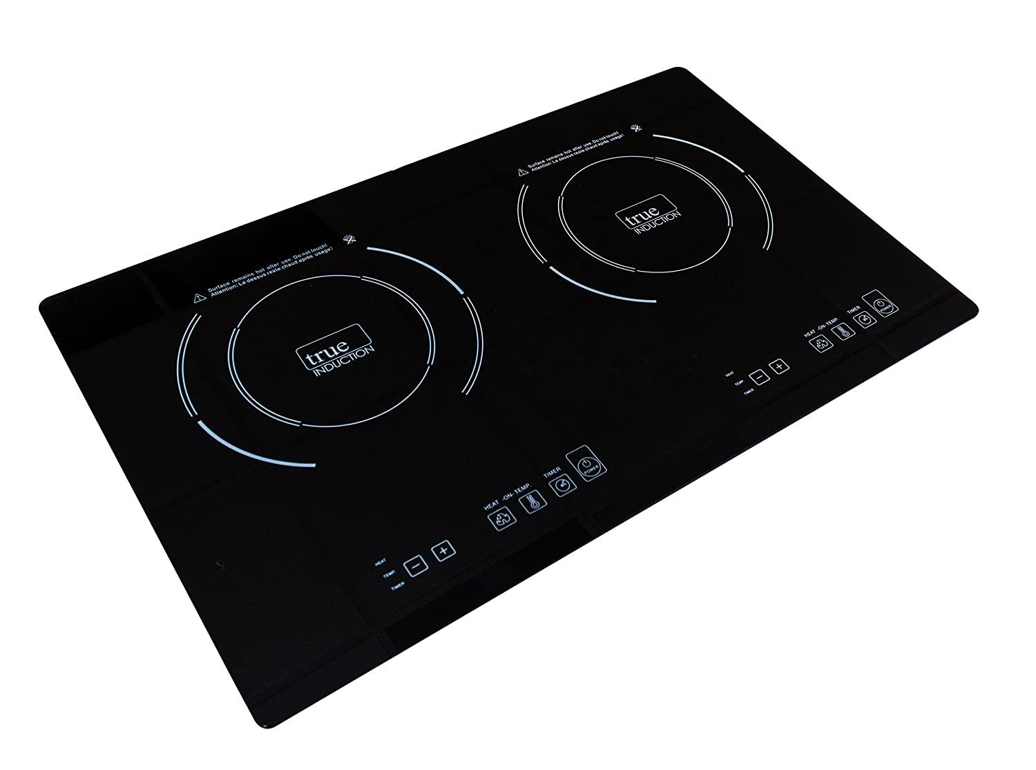 True Induction Ti 2b Counter Inset Double Burner Low Price Cookerb3 View Circuit Board Cooker Cooktop 120v Black Sports Outdoors