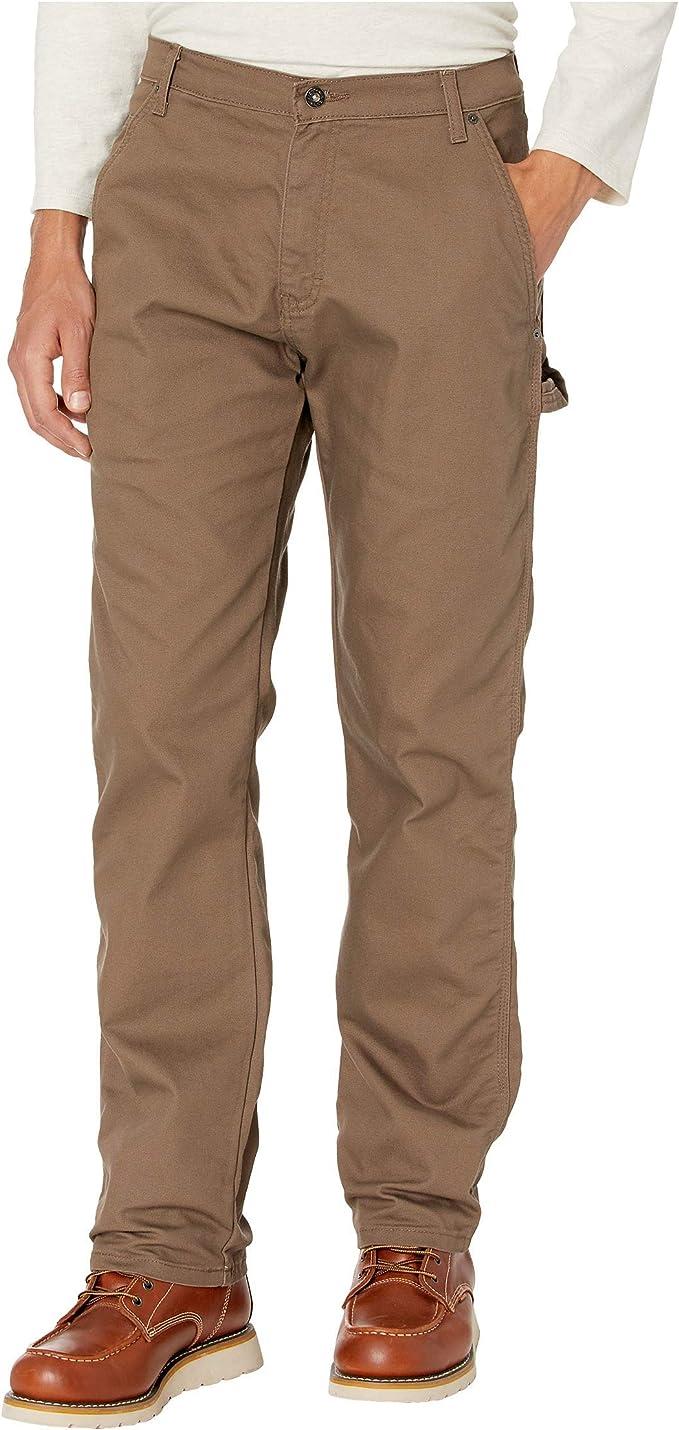 plain brown work pant