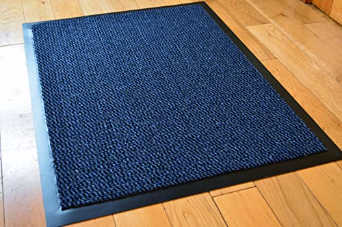 Extra Large Light Dark Blue Barrier Mat 120cm X 180cm 6