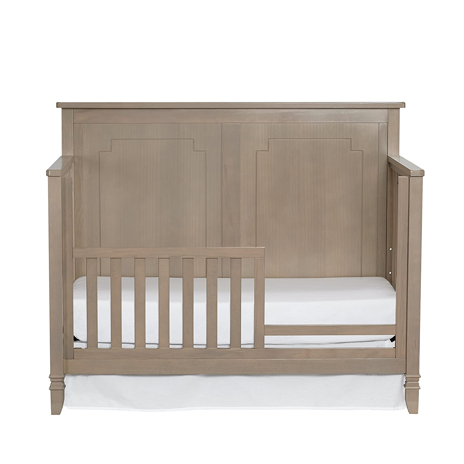 Suite Bebe Asher 4-in-1 Convertible Crib Blossom Grey