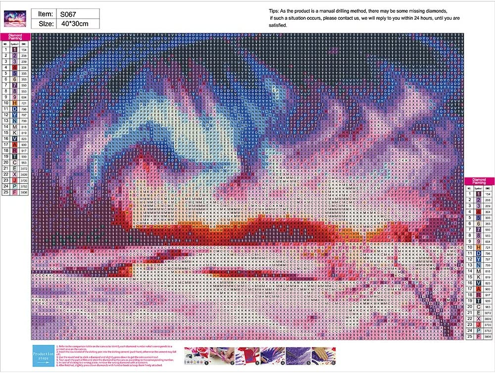 Allure 5D Diamond Painting Norwegian Aurora Polar Full Drill by Number Kits for Adults Polar Lights Landscape Paint with Diamonds Art Rhinestone Embroidery Cross Stitch Decor 12 x 16 inch, 2 Pack