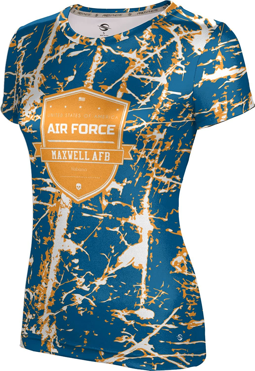 ProSphere Women's Maxwell AFB Military Distressed Tech Tee