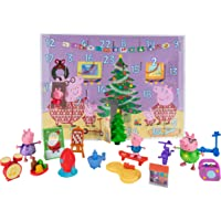 Peppa Pig Advent Calendar, 24-Piece, Featuring Fun Characters / Accessories from The World of Peppa Pig Including George…