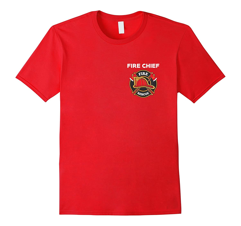 Fire Rescue Chief Department T-Shirt for Firemen EMT EMS-FL