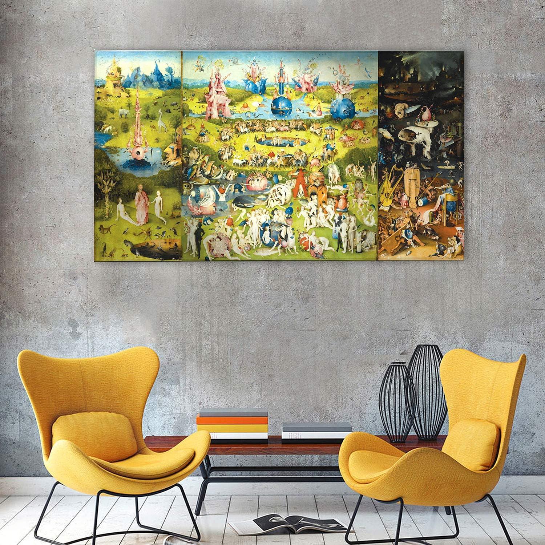 Cuadro - Hieronymus Bosch - El jardin de las delicias - Impresión ...