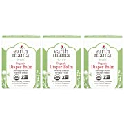 Earth Mama Organic Diaper Balm Calendula Cream, 2-Fluid Ounce (3-Pack)